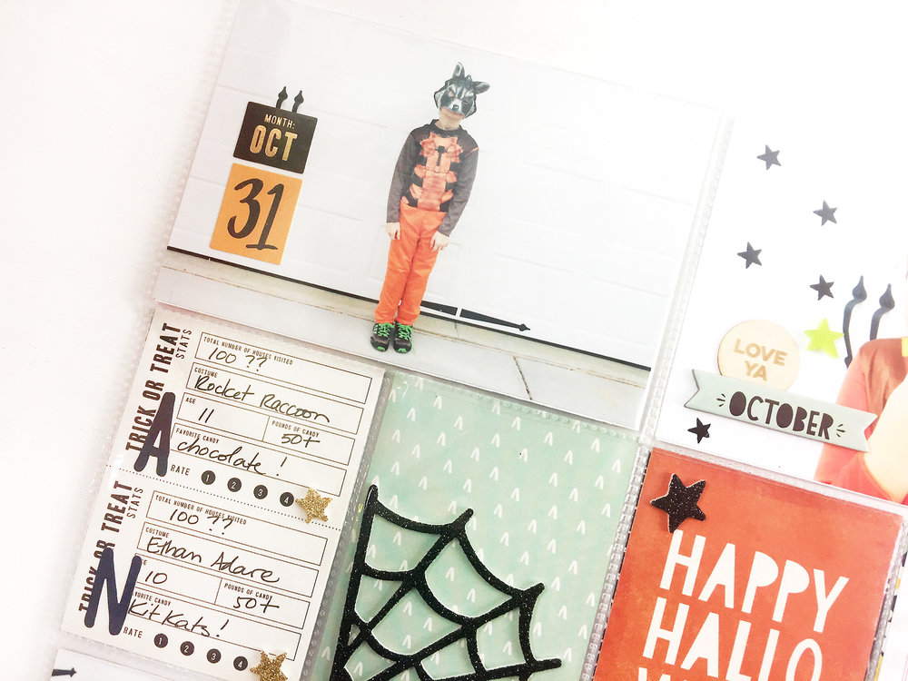 Larkindesign TBT Project Life 2014 Halloween Pt. 02 | Feat. MH After Dark!