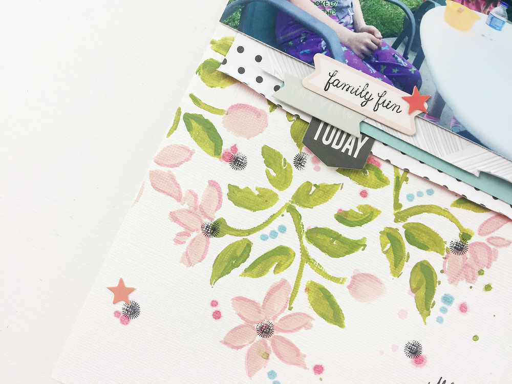 Larkindesign Traditional Layout | What I See ft. Felicity Jane Summer!!!!