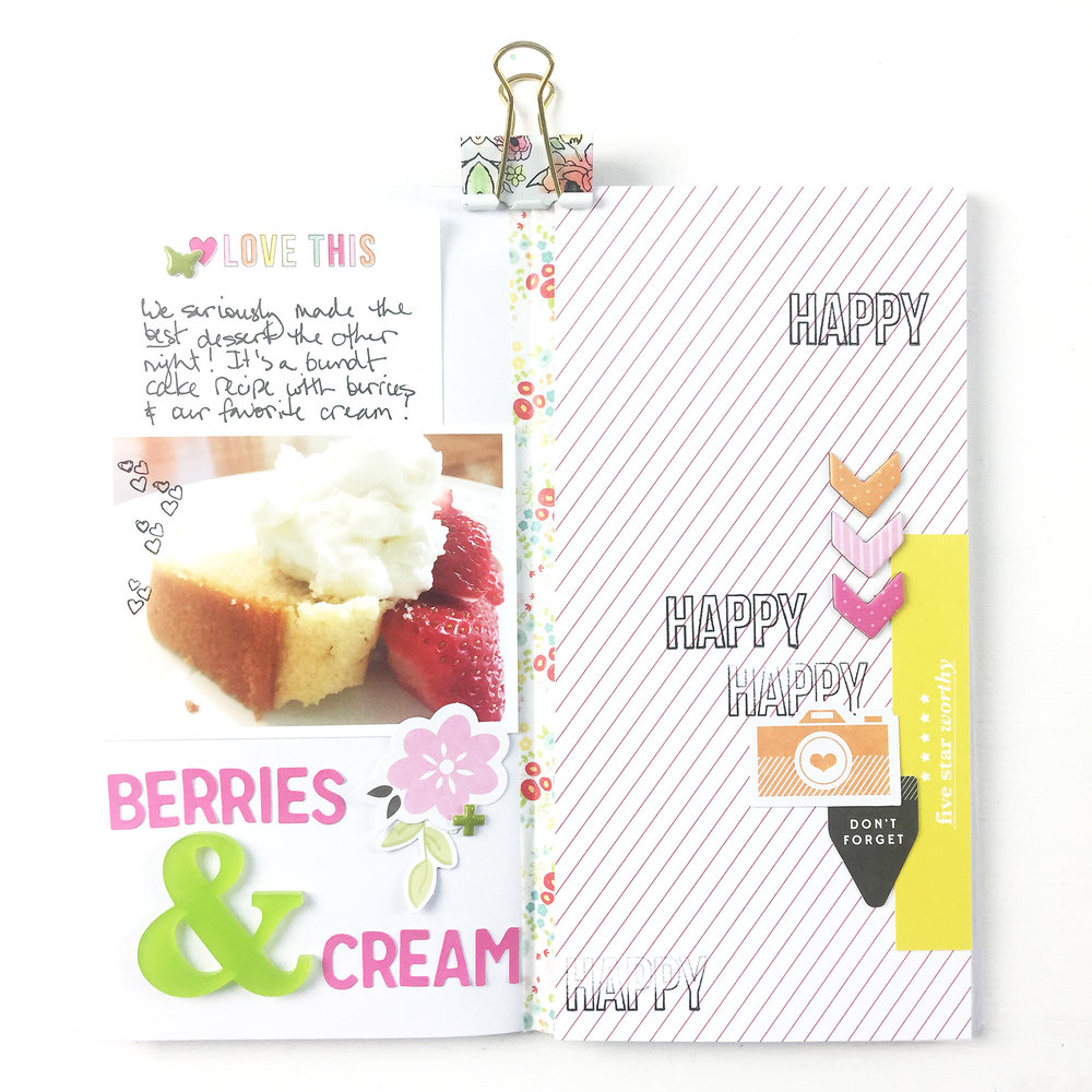 Larkindesign Traveler's Notebook | Favorite Things Berries & Cream ft. Gossamer Blue Kits!!