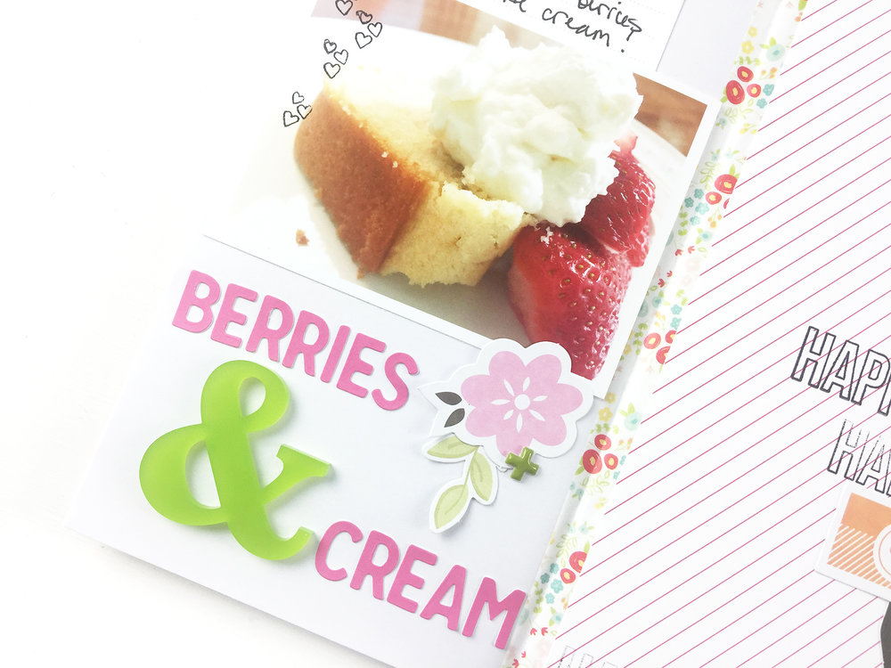 Larkindesign Traveler's Notebook | Favorite Things Berries & Cream ft. Gossamer Blue Kits!!!