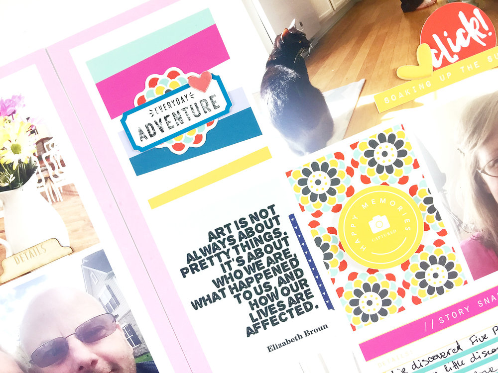 Larkindesign Project Life 2017 Week 18 | ft. The Lilypad MPM July Kit Snapshots!!