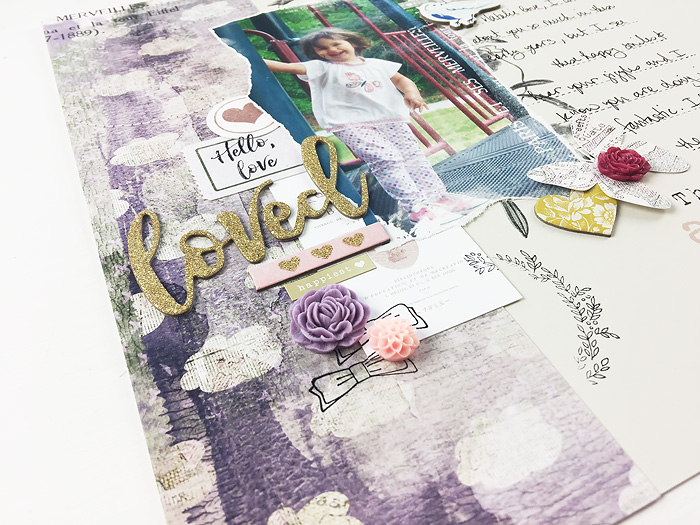 Larkindesign Hybrid Layout | Loved ft. On A Whimsical Adventure Wanderlust! PLUS Class Updates!!!!