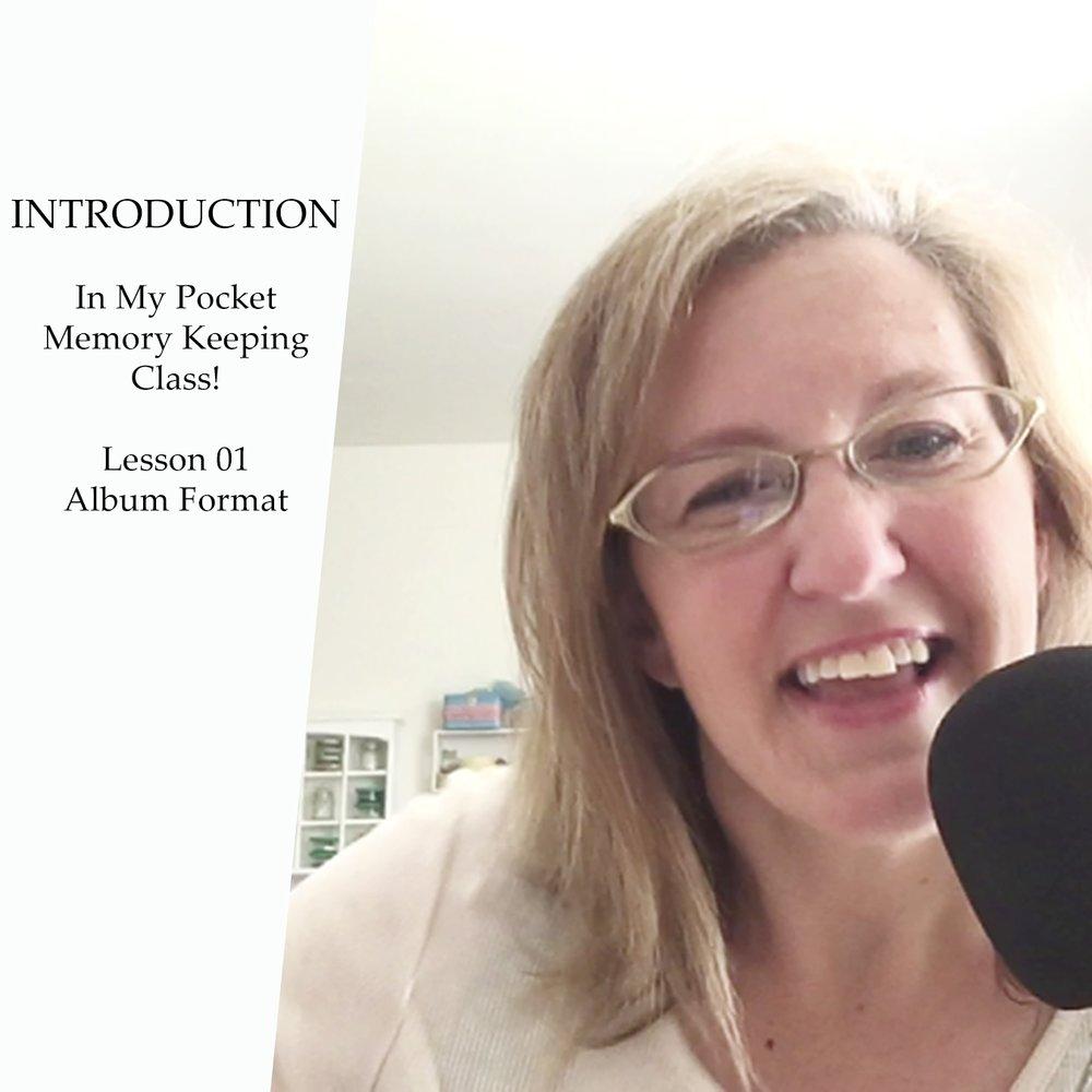 Lesson 1 | Album format
