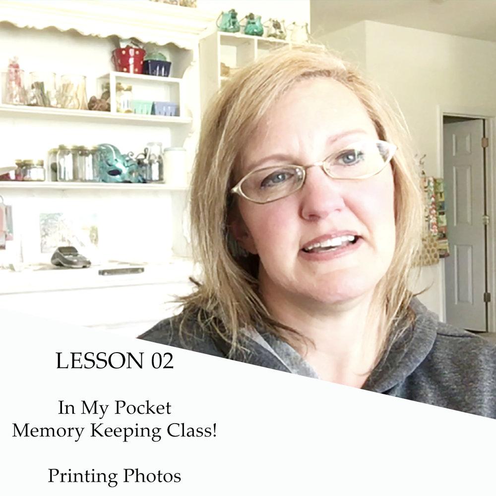 lesson 2 | photo printing