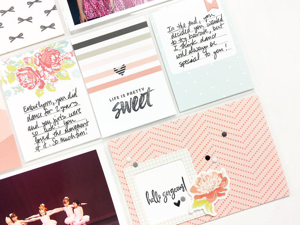 Larkindesign Kids Albums Project | Emberlynn Edition A Dance Layout ft. Felicity Jane!!!!
