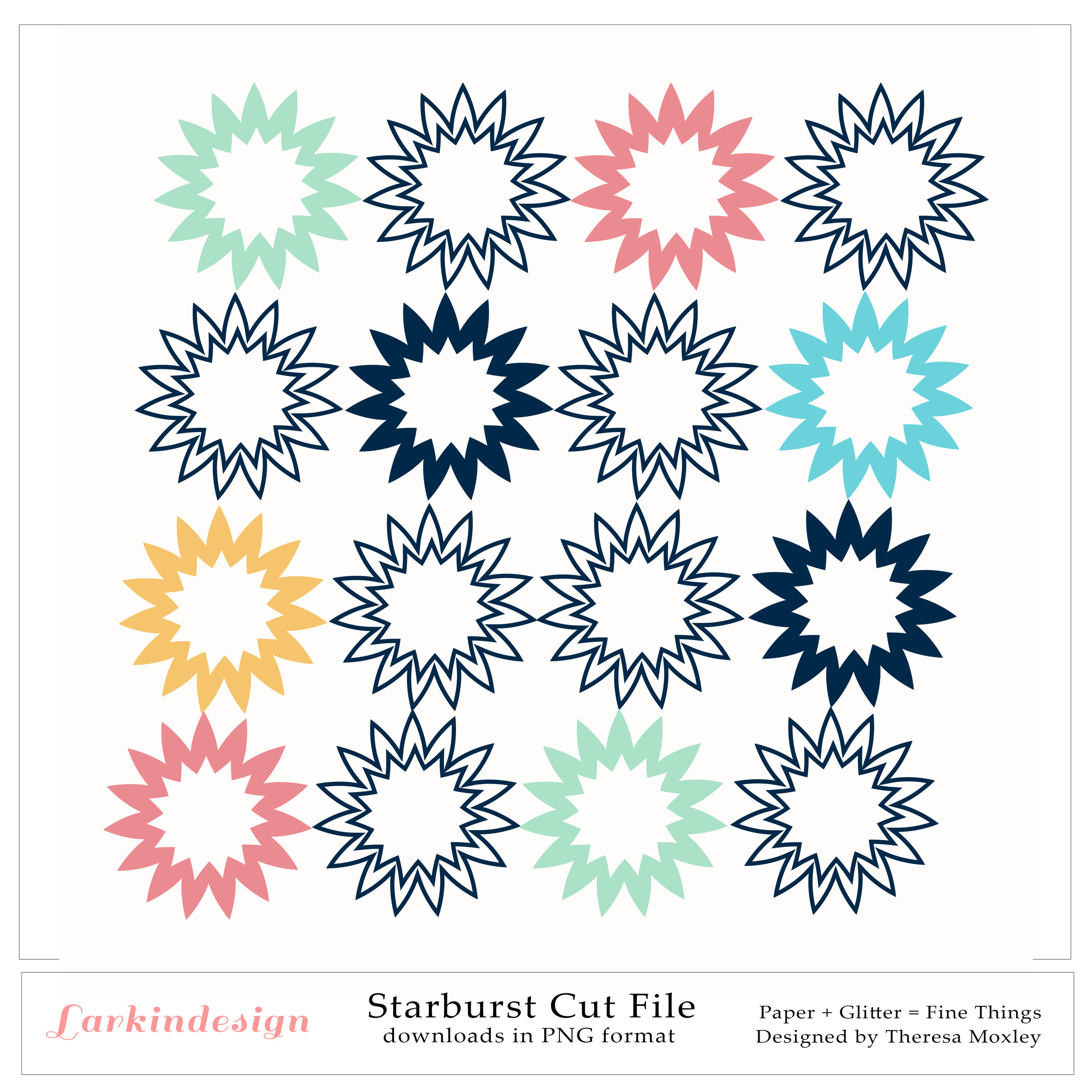 Starburst Cut File