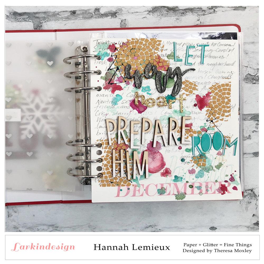 Creative Team Introductions | Hannah Lemieux!!