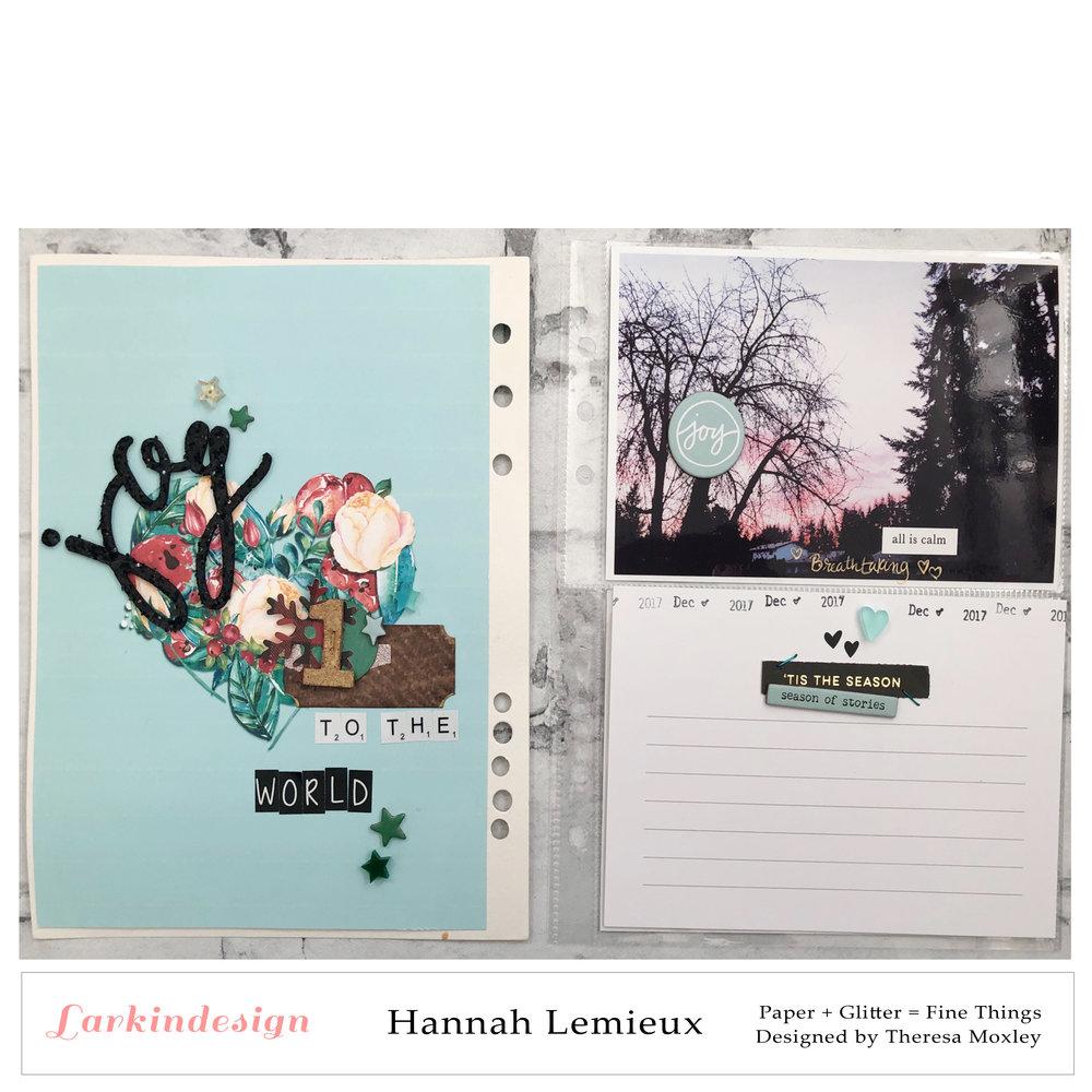 Larkindesign 2018 Creative Team Introductions | Hannah Lemieux
