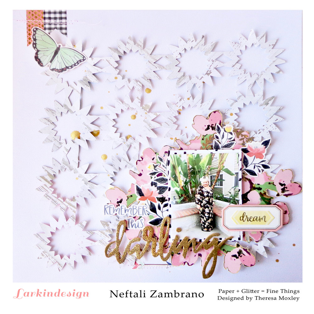 Larkindesign Creative Team Neftali Zambrano | ft. Starburst Cut File!!