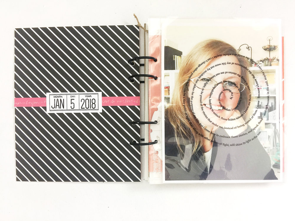 Awesome Ladies Project%5CBook of Me January Layout