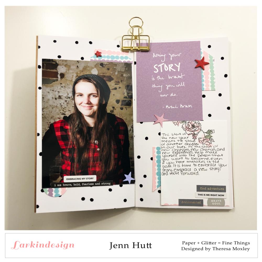 Larkindesign Creative Team Jenn Hutt | February Products Using The Heart Is Home!!!