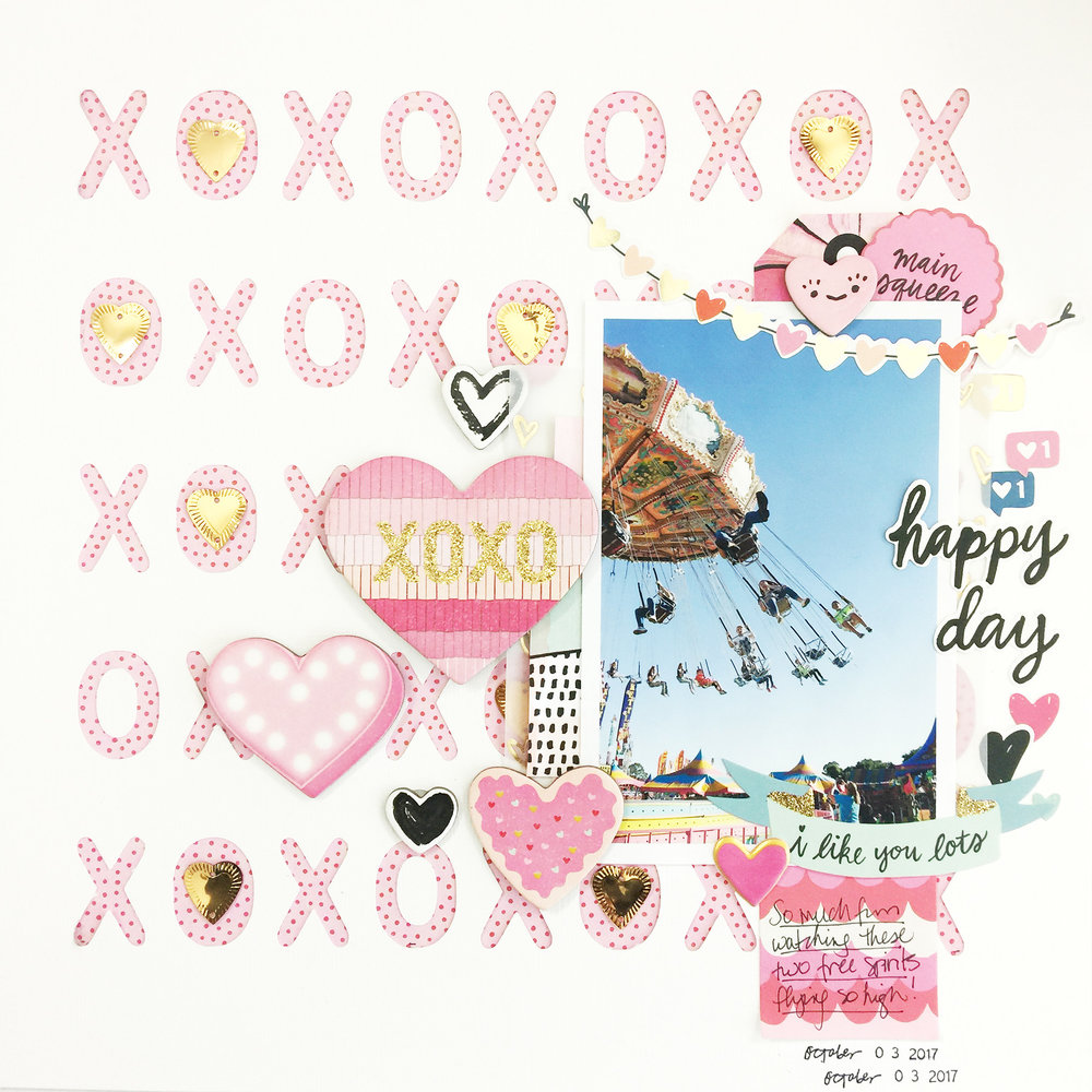 50 First Layouts | Dear Lizzy Stay Colorful Unboxing