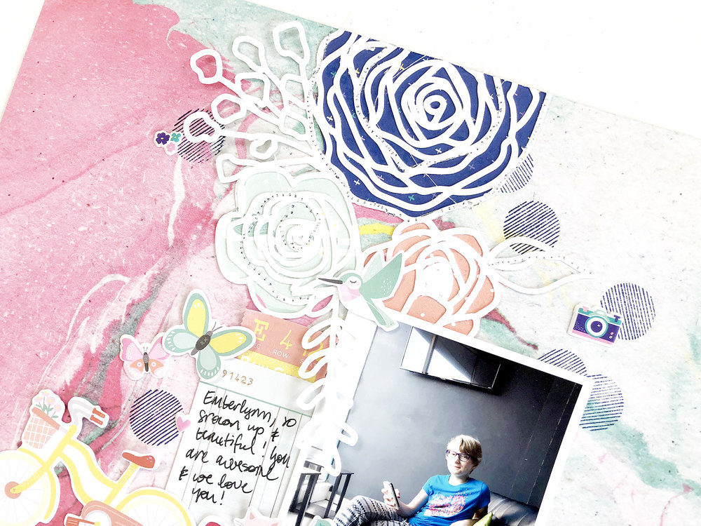 Larkindesign 50 First Layouts | Hey Good Looking ft. Dear Lizzy Stay Colorful!!!