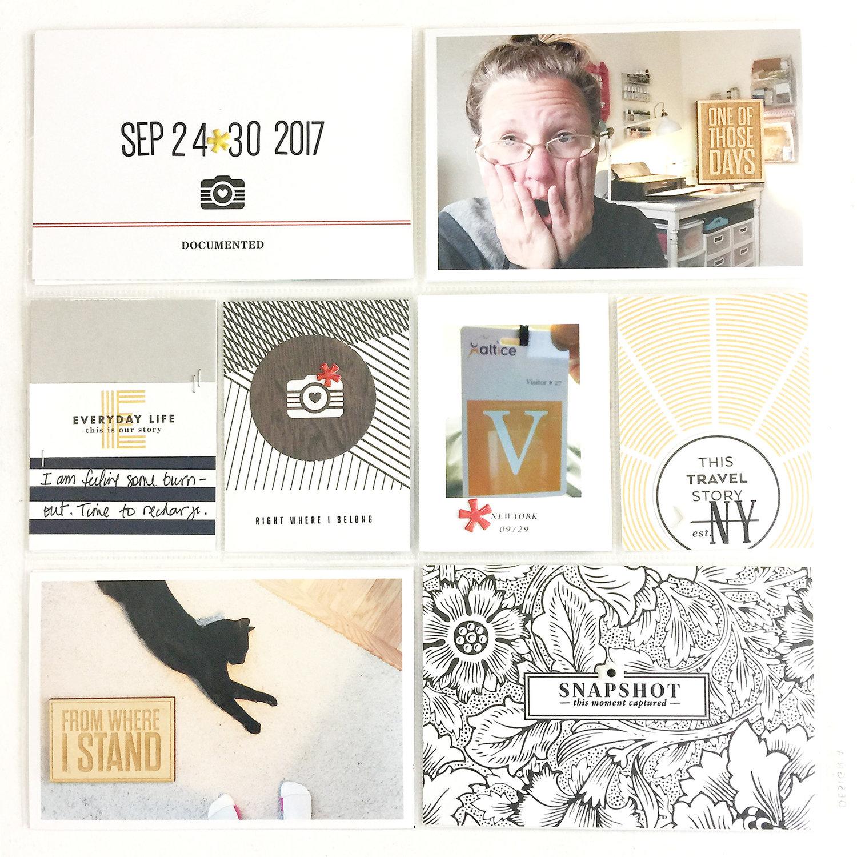 Larkindesign In My Pocket Volume 02 Lesson 05 | 2017 Project Life Week 39
