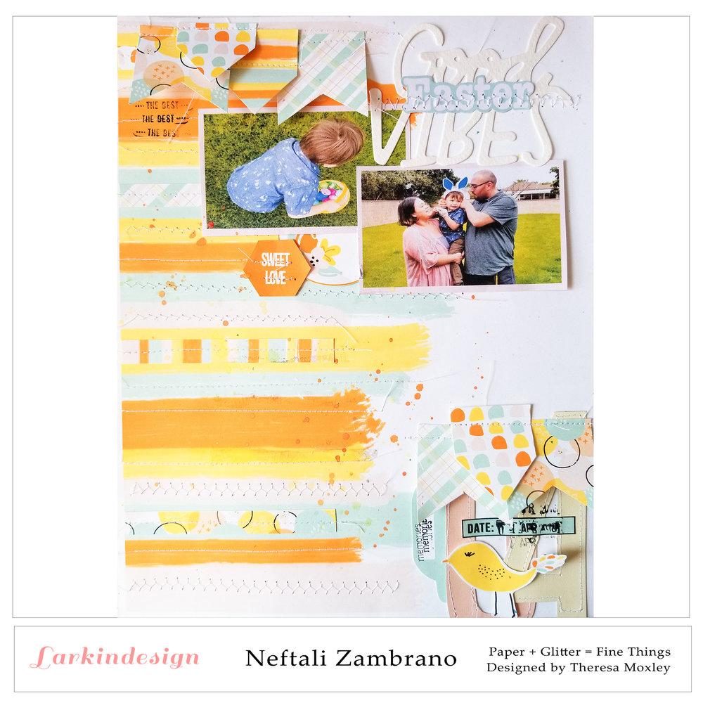 Larkindesign Photo Templates | Creative Team Member Neftali Zambrano