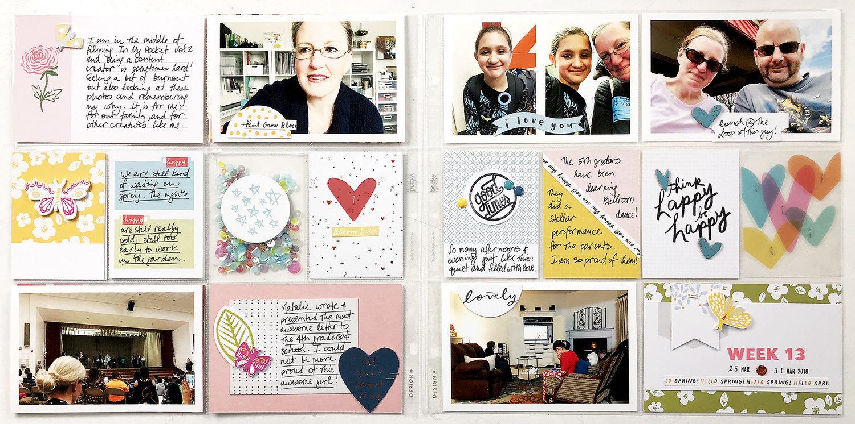 Larkindesign In My Pocket Volume 02 | 2018 Project Life Week 13