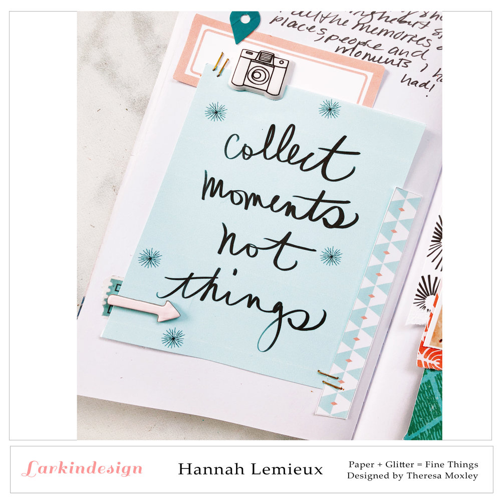 Creative Team Hannah Lemieux | Traveler's Notebook Layout ft. May Release!!!