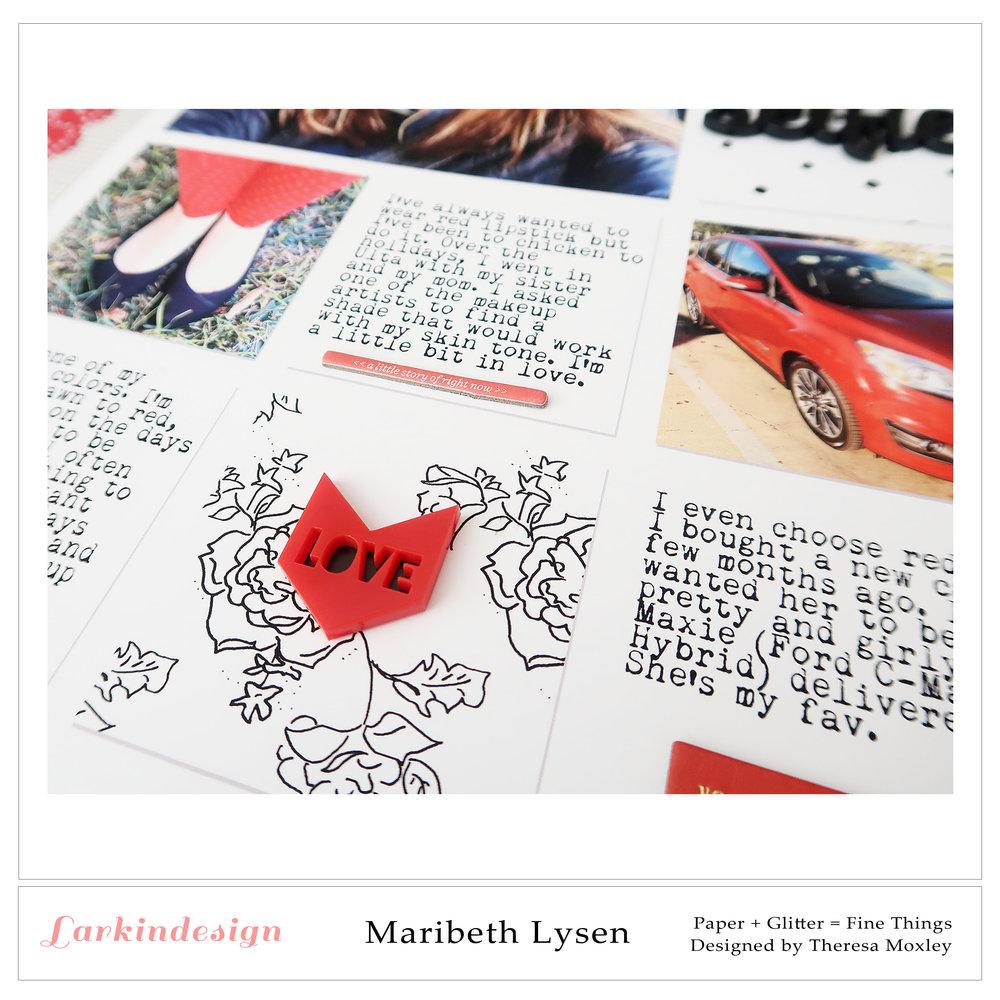 Larkindesign Photo Templates | Creative Team Member Maribeth Lysen
