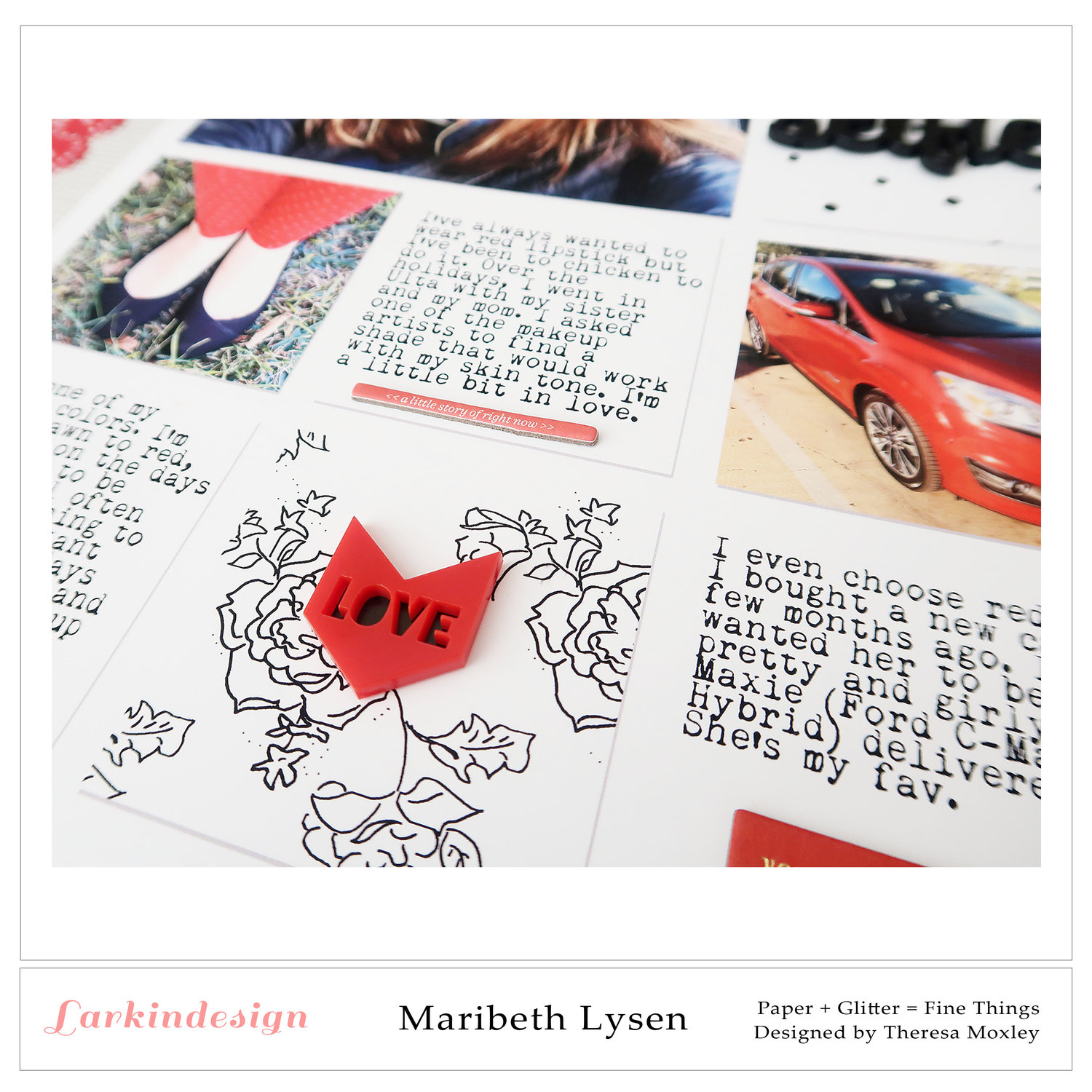 Larkindesign Photo Templates | Creative Team Member Maribeth Lysen