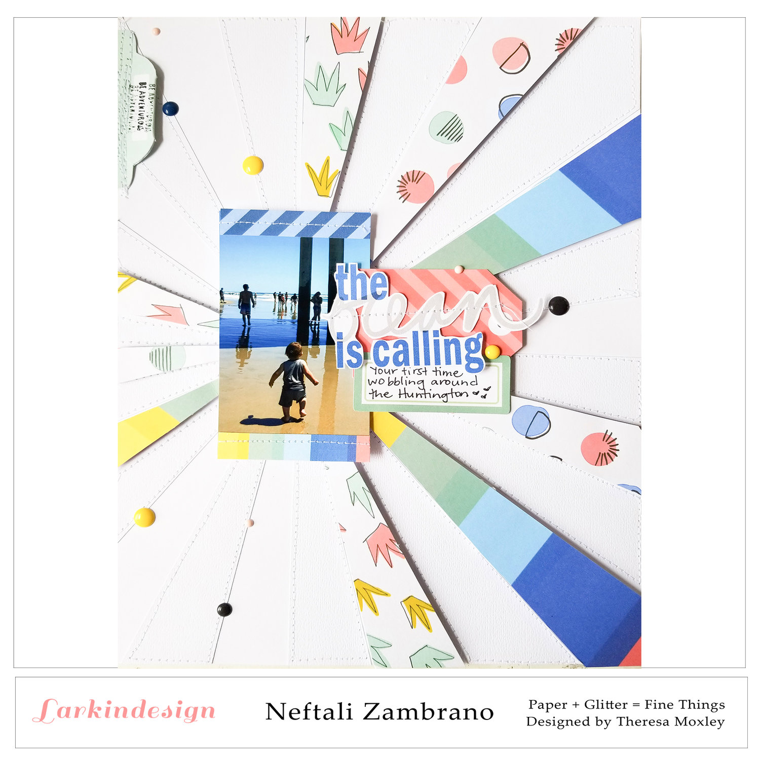 Larkindesign Creative Team Neftali Zambrano | Lovin' the Sun Digital Collection