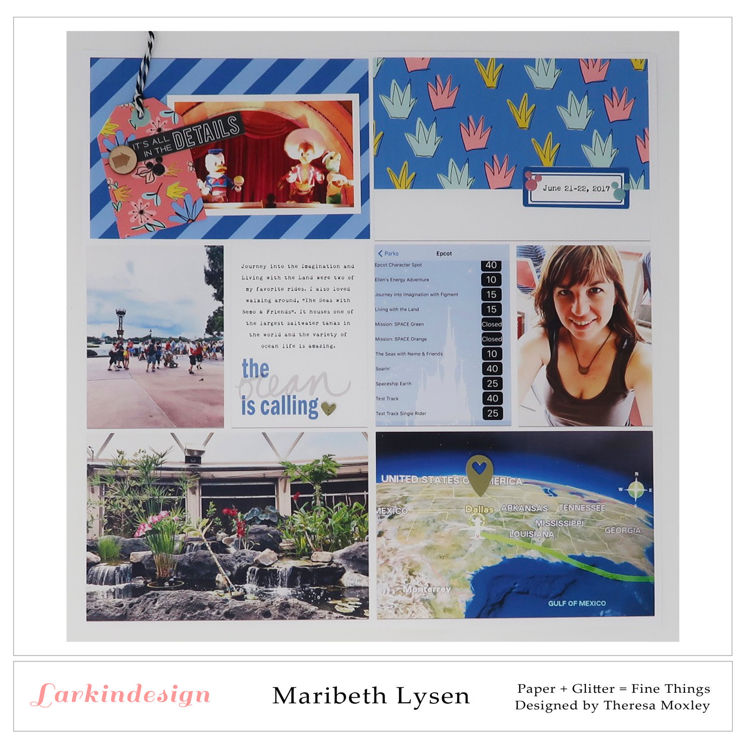 Larkindesign Creative Team Maribeth Lysen | Lovin' the Sun Digital Collection