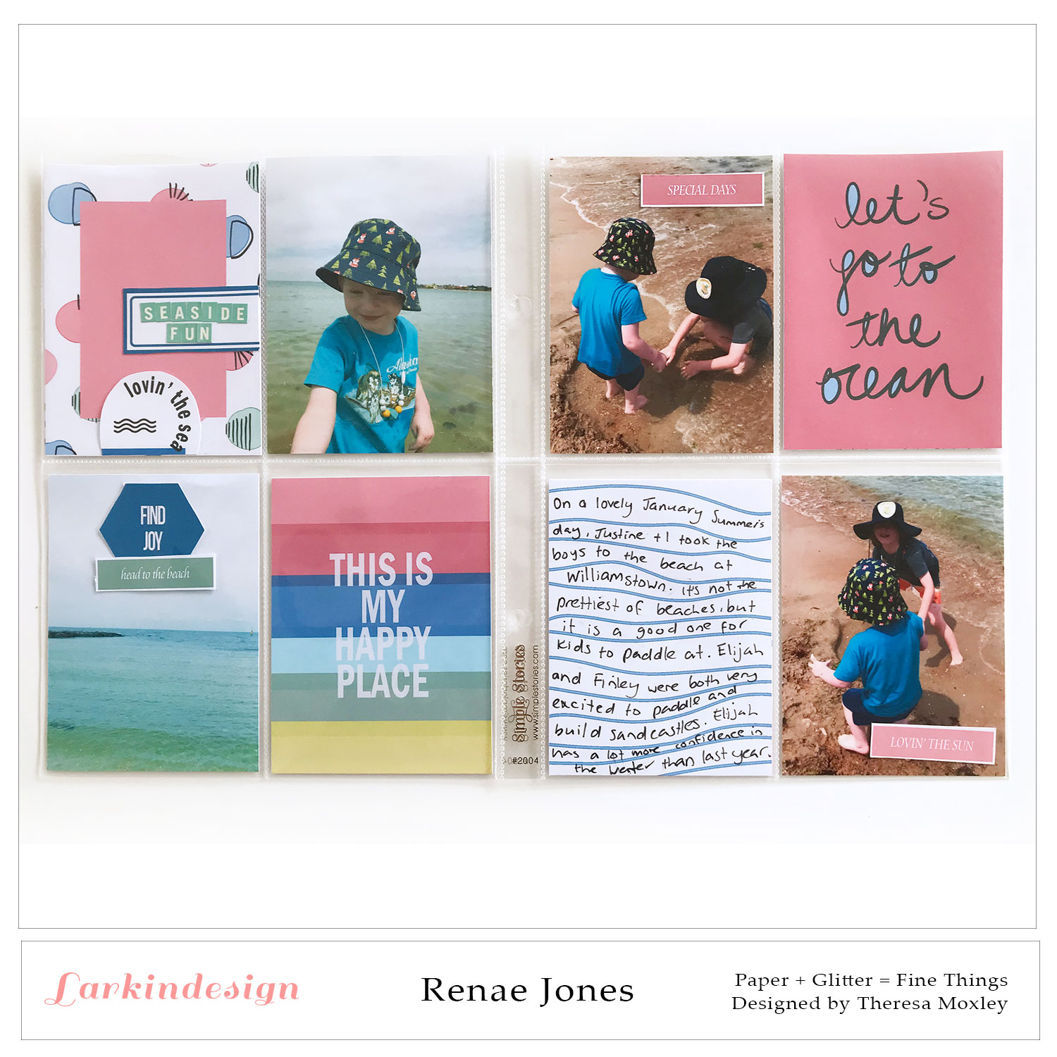 Larkindesign Creative Team Renae Jones | Lovin' the Sun Digital Collection