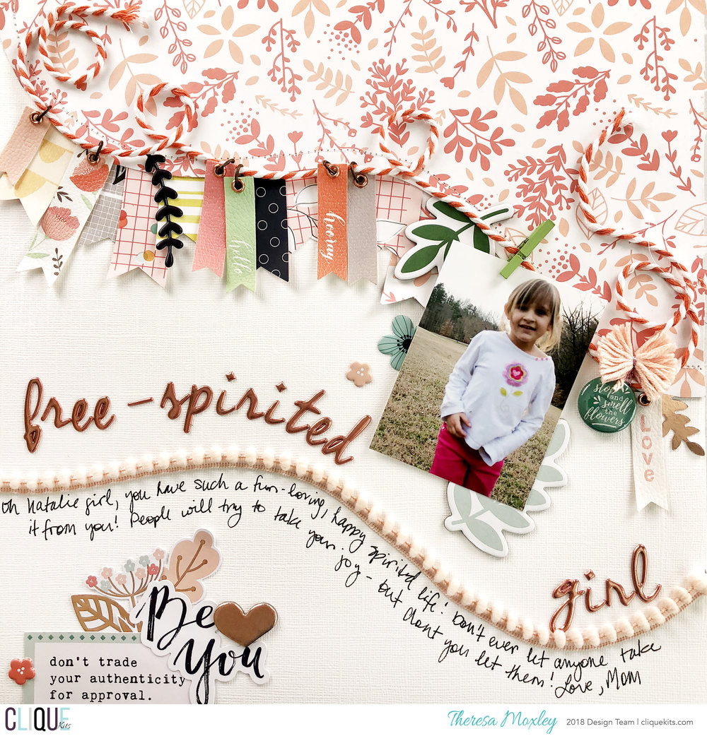 Clique Kits May 2018 Layout Share ft. Pinkfresh Studio!!