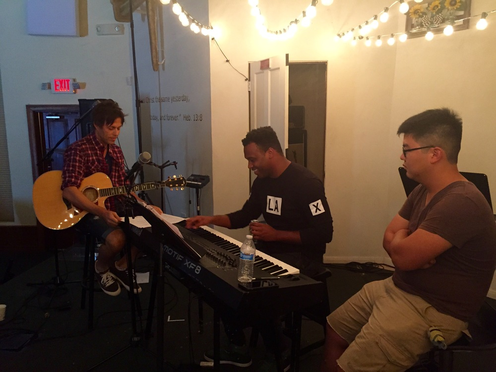 Worship Writing Session