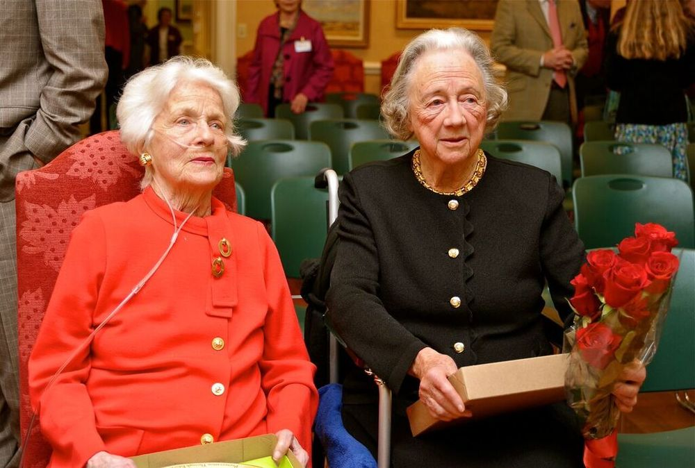 Janet Grayson Whitehouse, left, and Hope Porter