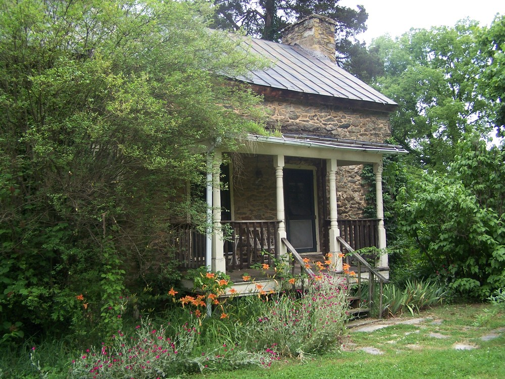The former blacksmith's house at Mt. Defiance near Middleburg, above, is an example of places that need to be purchased, restored, and preserved.  This home was a well-known Mosby rendezvous point.