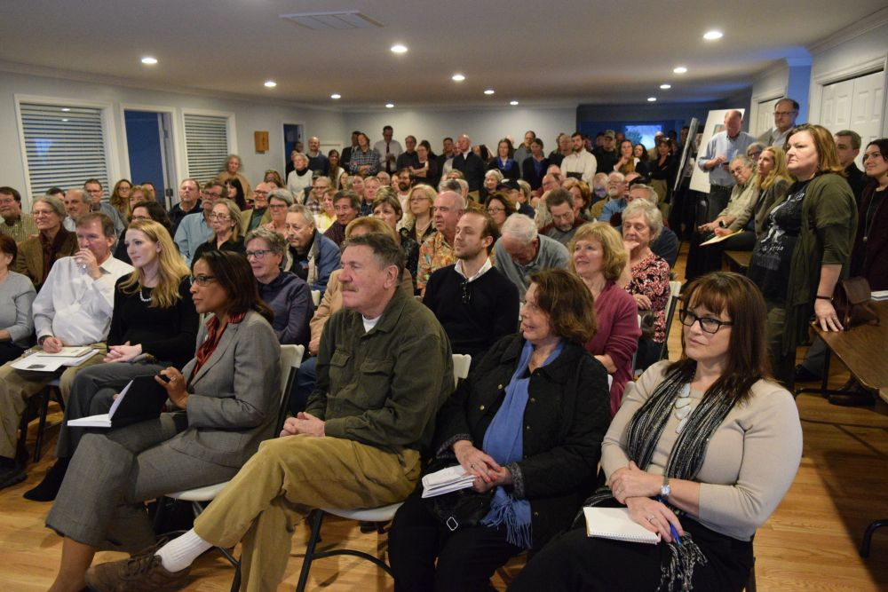 Participants packed the Aldie United Methodist Church (Photo courtesy of Loudoun Now)