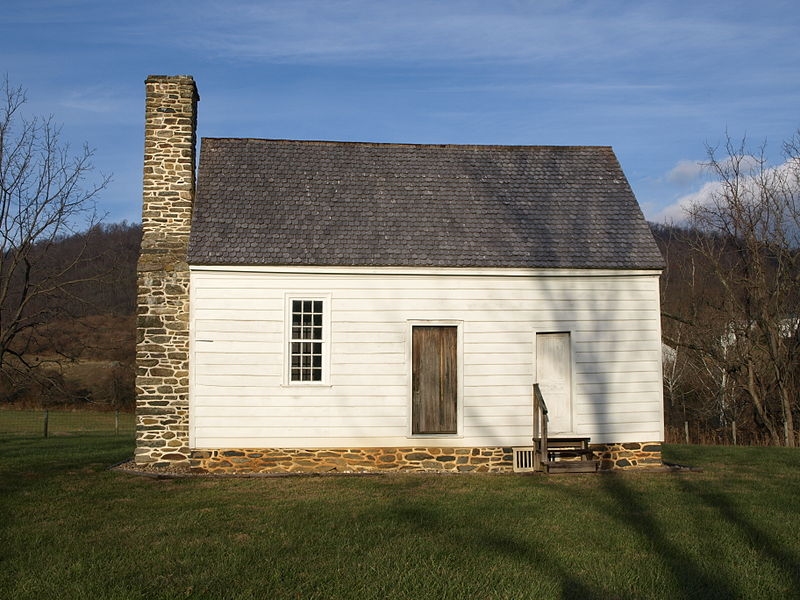 The Hollow, Marshall's boyhood home near Markham