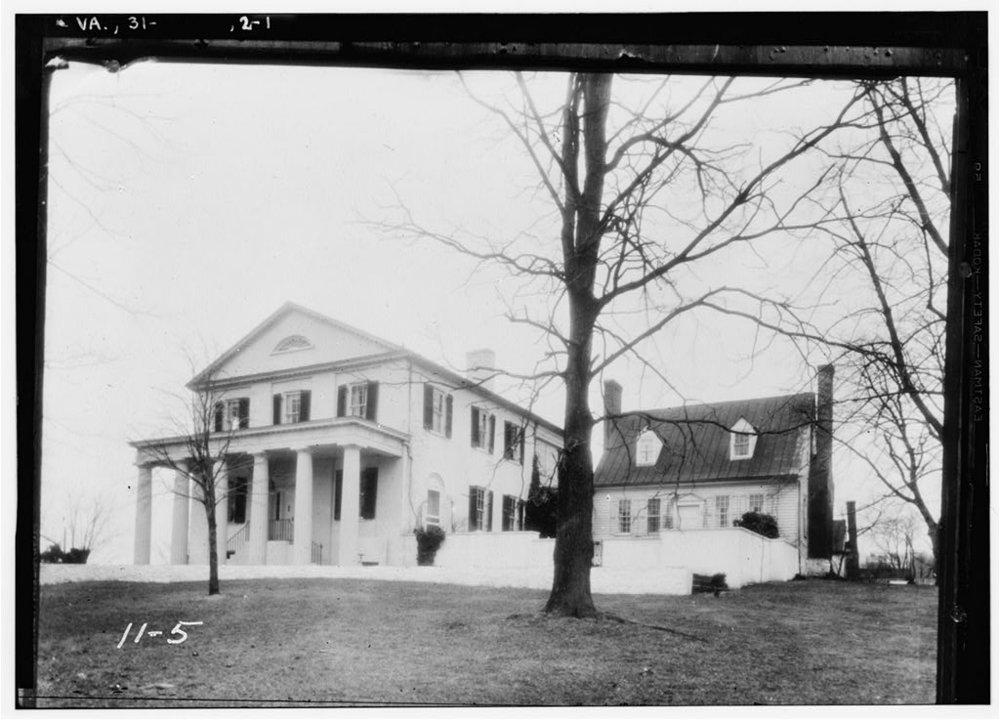 Oak Hill, Marshall's Country Estate near Delaplane