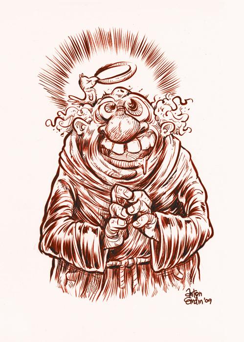 Red Friar Sketch