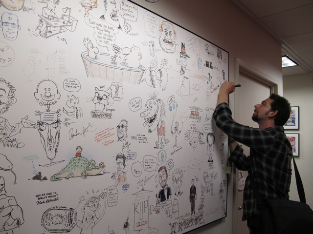 Drawing on the Board of Fame