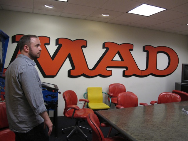 Ryan Flanders in the MAD meeting room