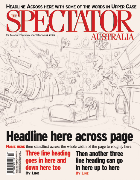 'Private Eyes' Spectator cover art