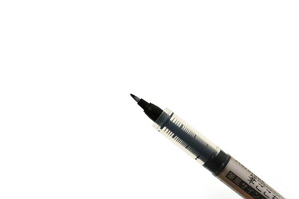 Kuretake Fudegokochi Brush Pen - tip closeup