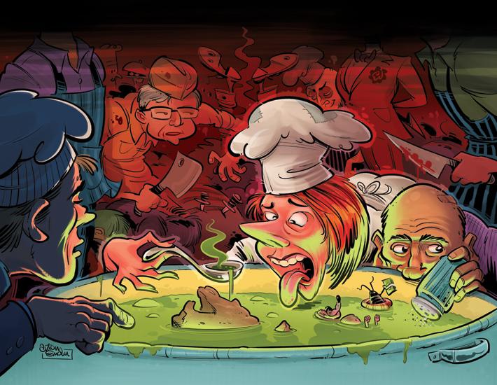 'Cooks' Final Art