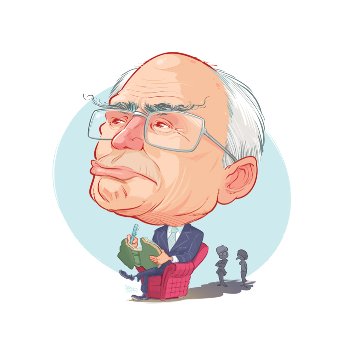 'John Howard Memoirs' illustration by Anton Emdin