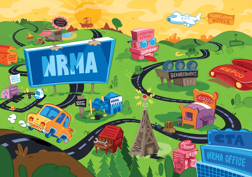 NRMA Foldout (closed)