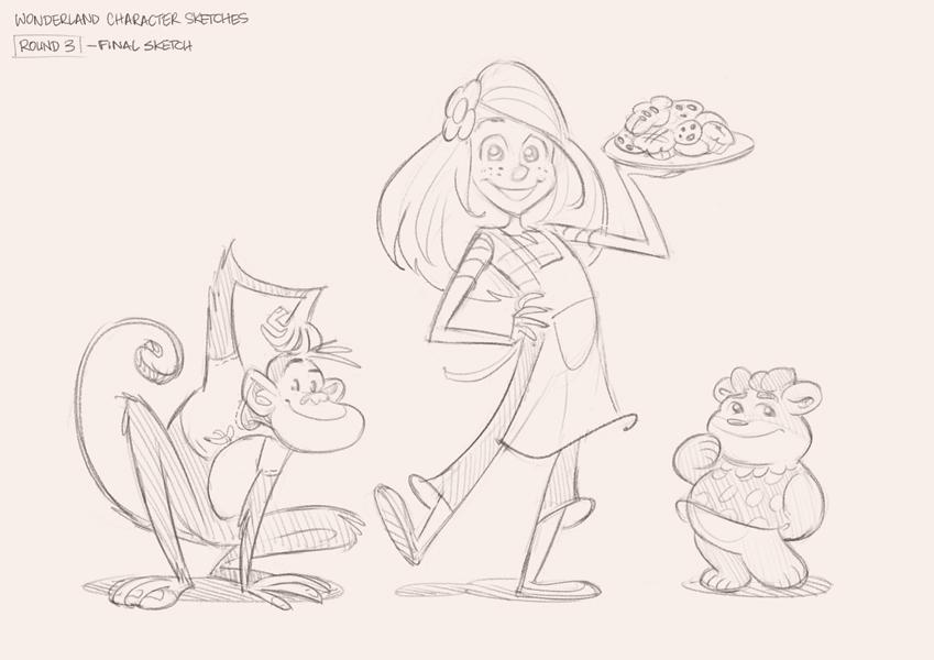 Round 3 Sketches