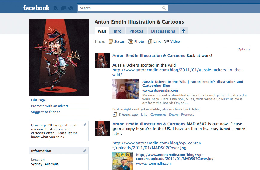 Anton Emdin Illustration & Cartoons on Facebook