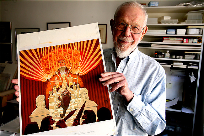 Al Jaffee (photo © Librado Romero/The New York Times)
