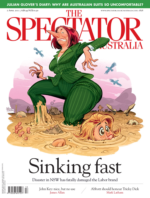 Quicksand cover © Anton Emdin for The Spectator Australia