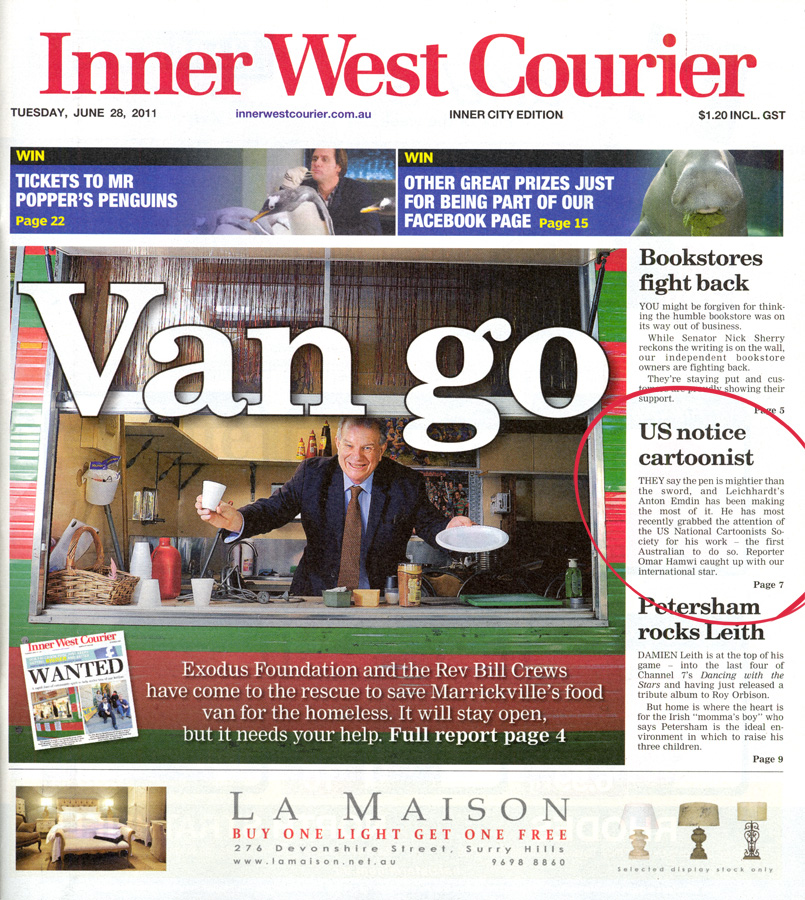 Inner West Courier 28th June 2011