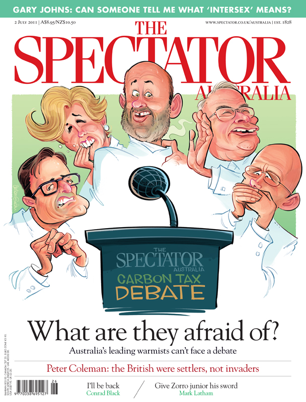 Spectator Debate cover© Anton Emdin 2011