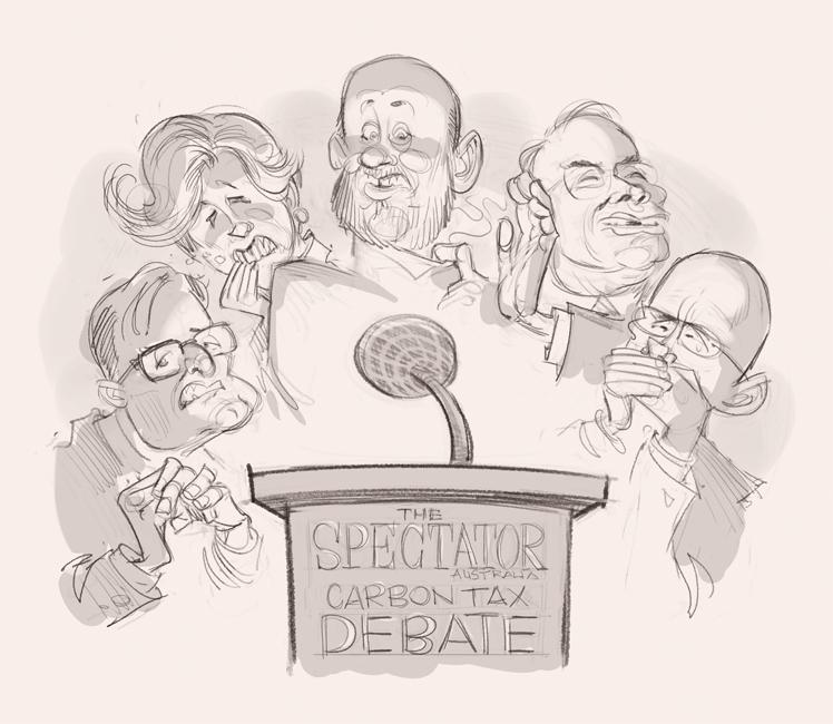 Spectator Debate (sketch) © Anton Emdin 2011