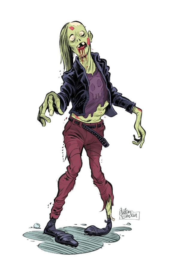 Threaders Zombie © Anton Emdin 2011