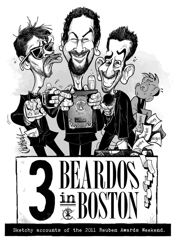 Boston Beardos © Jason Chatfield 2011